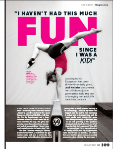 Good Housekeeping Gymnastics Essay